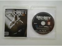 Ps 3 call of duty black ops ll.