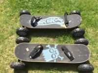 2 mountain boards £20
