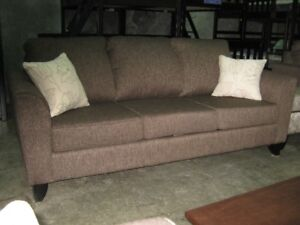 The Nova 3 seat sofa, Made in BC,over 200 fabrics to choose from