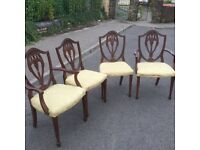 Vintage chairs easy up-cycle s these are in good condition