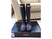 Original Tall Hunter Wellington Boots Size 5