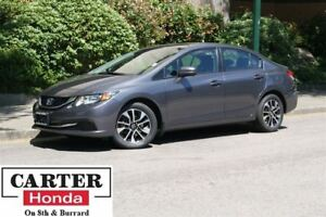 2014 Honda Civic EX + LOCAL + NO ACCIDENTS + CERTIFIED!