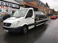 Vehicle car recovery and transport,07738528503
