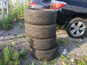 225/50 R17, 4 GOODYEAR summer tires in good condition