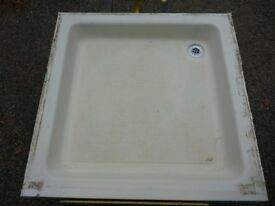 Stone Resin Shower Tray 900mm x 900mm C/W Waste