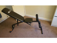 Pro Fitness Adjustable Weights Bench