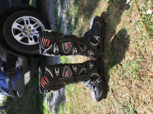 Foz comp 5 dirtbike boots size 8