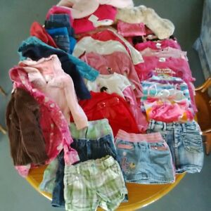 Large Lot of Girls Size 5 Clothes
