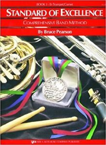 Standard of Excellence Book 1 & 2 for Trumpet