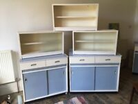Retro / vintage kitchen units - must go this weekend