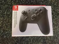 Nintendo Switch Pro Pad New Sealed