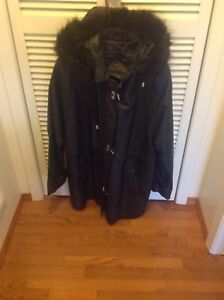 Women's Leather parka