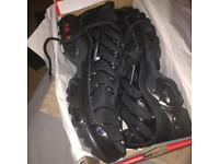 Triple black TNs silver tick brand new size 9