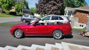 2012 Ford Mustang Premium Cabriolet convertible V6 36000km