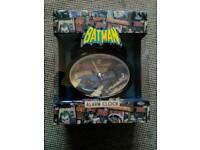 Batman Alarm Clock - New Boxed. £2