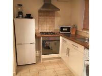 Recently built one bedroom house, rent £825, deposit £1300.