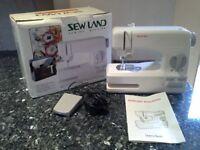 Sew land sewing machine