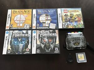 6 Nintendo DS games $20 for everything
