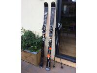 Dynastar Big Trouble, twin tip big mountain skis