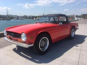1973 Triumph TR-6 classic Convertible $7295 as traded