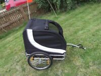Dog carrier/bicycle trolley