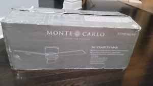"Monte Carlo 56"" clarity max ceiling fan"