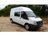2010/60 Ford Transit 115 T350 LWB Hi Top Crew Van 6 seat 2.4 Turbo Diesel 6 Speed *call 07956-158103