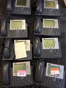 CISCO IP Phones 7941 and others