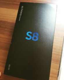 samsung galaxy s8 64g unlocked. brand new in box