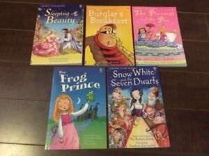 Set of Five Usborne Young Readers Books - Great condition!