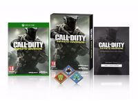 New Sealed - Xbox One Call Of Duty Infinite Warfare Standard Edition w/ Extra Content and Pin Badges