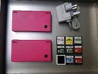 Pink Nintendo DSi bundle