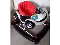 My Child Coupe red baby walker / rocker £35 ONO EX.COND
