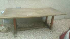 Solid wood Teak Table and Chairs