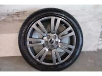 ALLOYS X 4 OF 20 INCH GENUINE RANGEROVER/DISCOVERY/FULLY POWDERCOATED INA STUNNING ANTHRACITE NICE