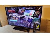 LUXOR 40-inch Smart FULL HD LED TV COMBI,built in DVD PLAYER,Wifi,Freeview HD,GREAT Condition