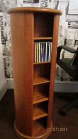 LEON LEVIN & SONS LEGATE ROTATING CD TOWER RACK.