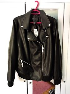 2X Forever 21 Pleather Jacket