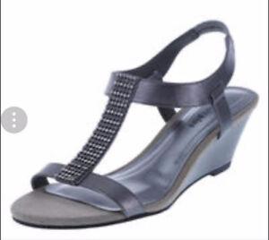 Pewter Women's Sandals