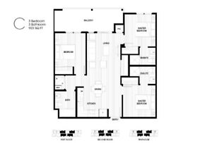 UBCO new construction, fully furnished with VIEW!