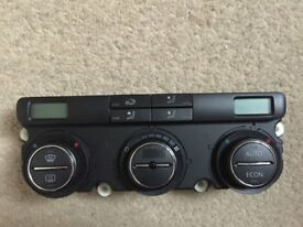 Volkswagen VW Golf heater control unit, fully working