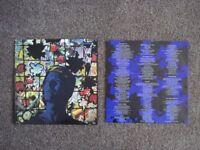 11 David Bowie vinyl LPs.... plus a BONUS Bowie double album