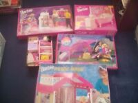 A LARGE AMOUNT OF RETRO 1980S BARBIE + LEGO + GAMES