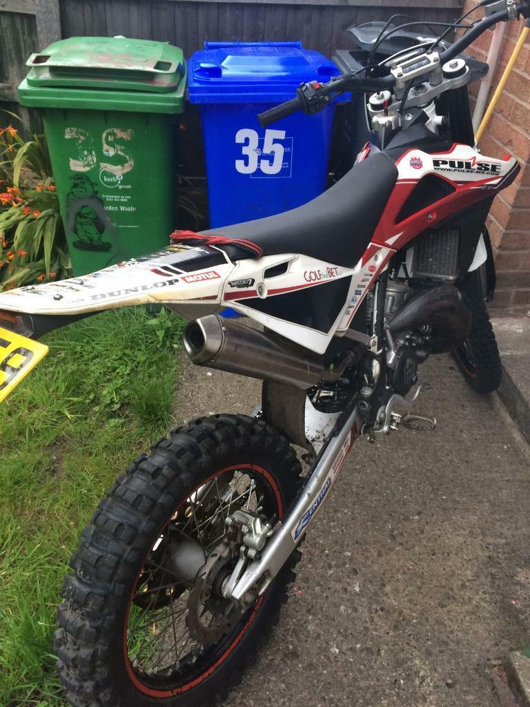 Husky wr125 road leagal 2010