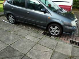 NISSAN ALMERA TINO 1.8 SE.... SWAP FOR VAN OR WHY