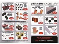 Underground Drainage, Pipes, Fittings, Junctions, Bends