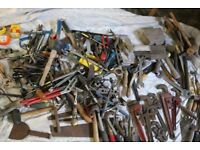 large joblot of hand tools