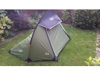 Lightweight North Ridge Col 1-man backpacking tent