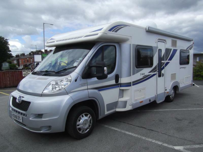 BAILEY APPROACH 740 SE, LOW PROFILE, 4 BERTH, ONE OWNER, 6440 MILES