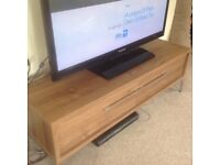 TV stand with two drawers